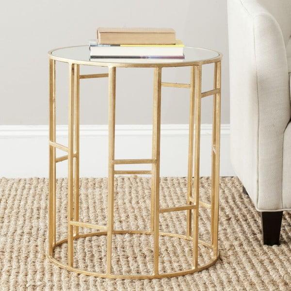 Kávový stolík Doreen Golden