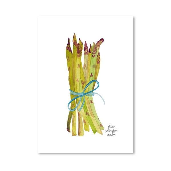 Autorský plagát Asparagus, 30x42 m