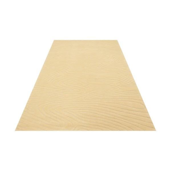 Ručne tkaný koberec Zen, 140x200 cm, béžový