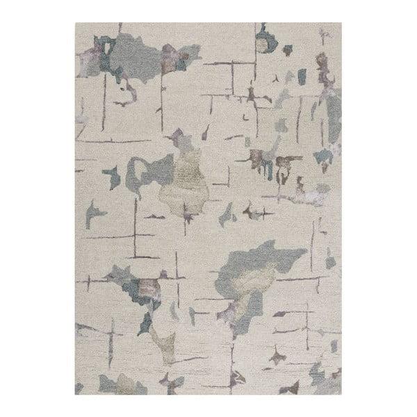 Vlnený koberec Bita Blue, 170x240cm