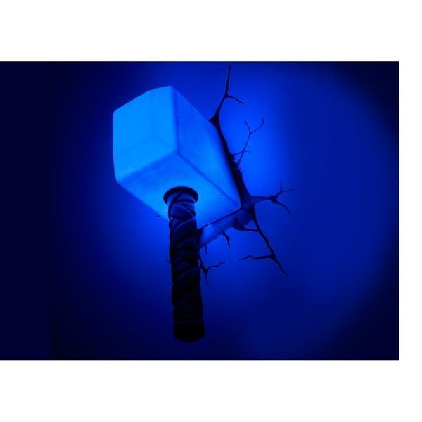 Nástenné svetlo s nálepkou Thor Hammer