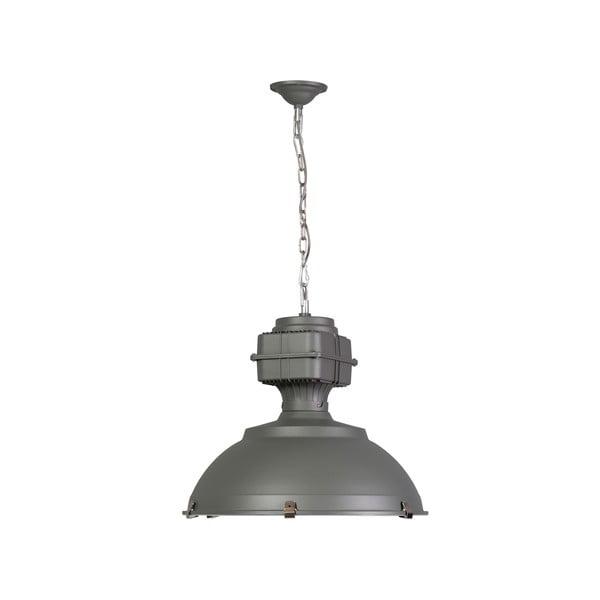 Sivé stropné svietidlo ETH Manduria