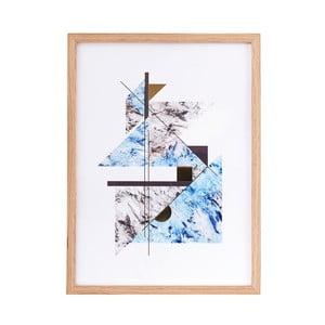 Ilustrácie v ráme Abstract Marble no. 2