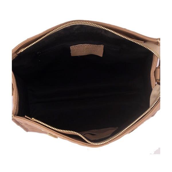 Kožená kabelka Andrea Cardone 2005 Taupe