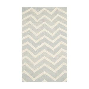 Vlnený koberec Edie, 91x152 cm