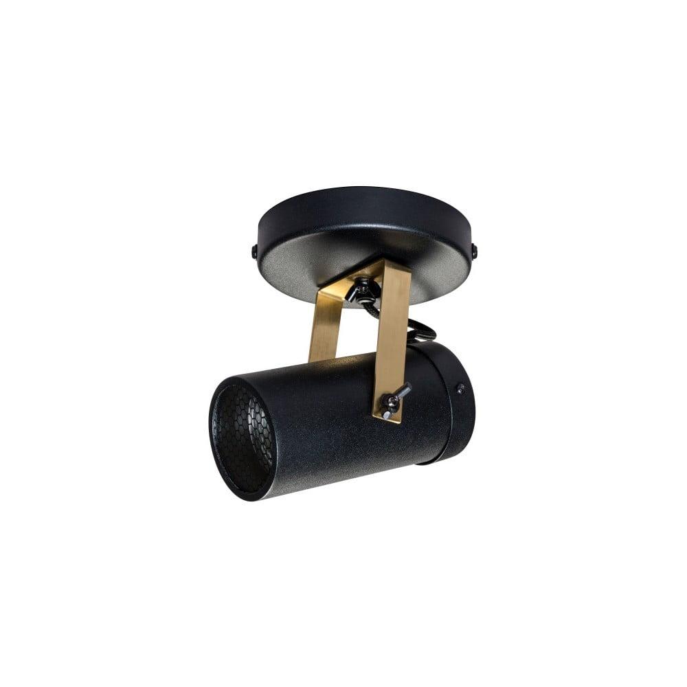 Čierne nástenné svietidlo Dutchbone Scope