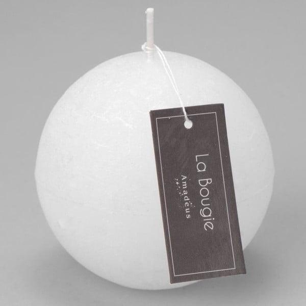 Sviečka Big Sphere White