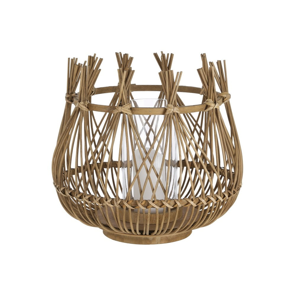 Bambusový lampáš A Simple Mess Armt, ⌀ 32 cm
