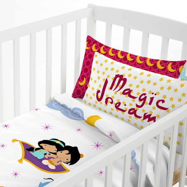 Detské bavlnené obliečky na paplón a vankúš Mr. Fox Aladdin, 115×145cm