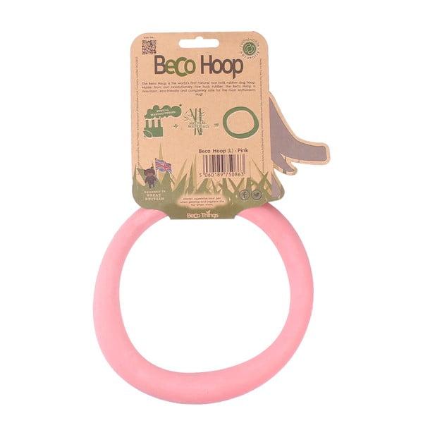 Hračka pre psa Hoop Large, ružová