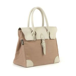Bavlnená kabelka Garbo, béžová