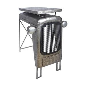 Sivý barový stolík Esschert Design Traktor