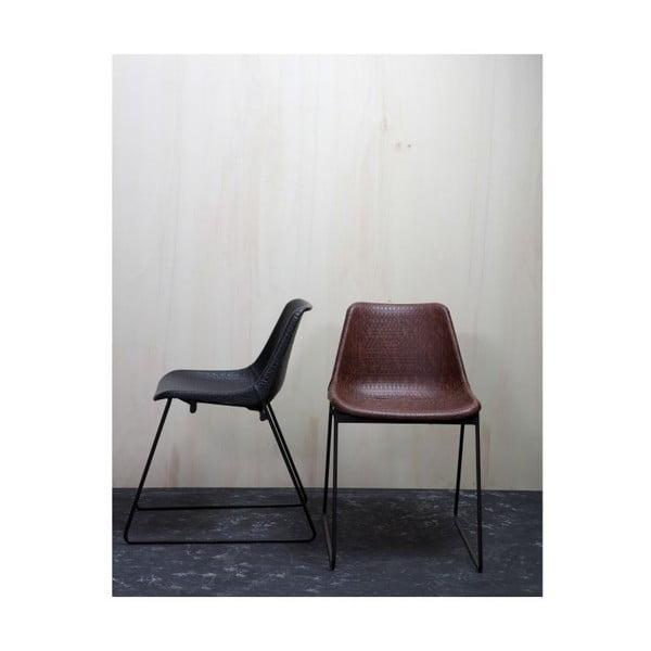 Čierna stolička Stainly Black