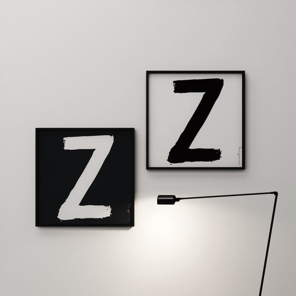 Plagát Litera Z, 50x50 cm