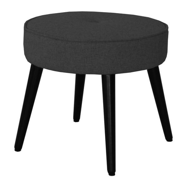 Čierna stolička RGE Filip