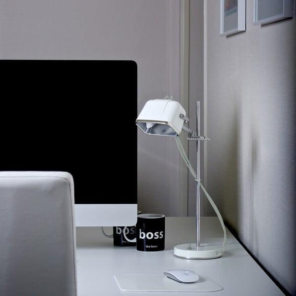 Stolová lampa Mob, biela