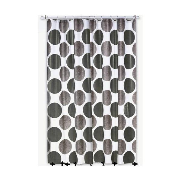 Sprchový záves Lamara Peva, sivý, 180x200 cm