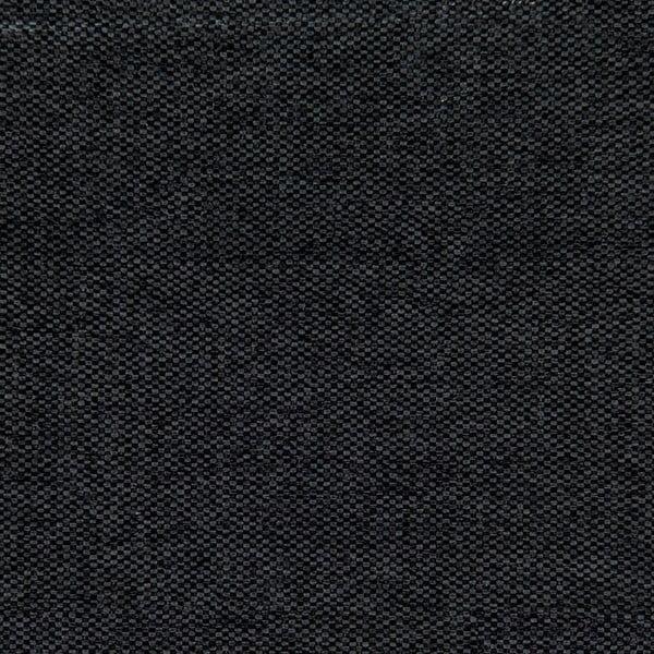 Sivá posteľ s tmavosivými gombíkmi a čiernymi nohami Vivonita Kent 140x200cm