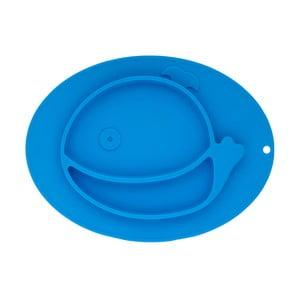 Modrý silikónový podnos pre deti Brandan Baby