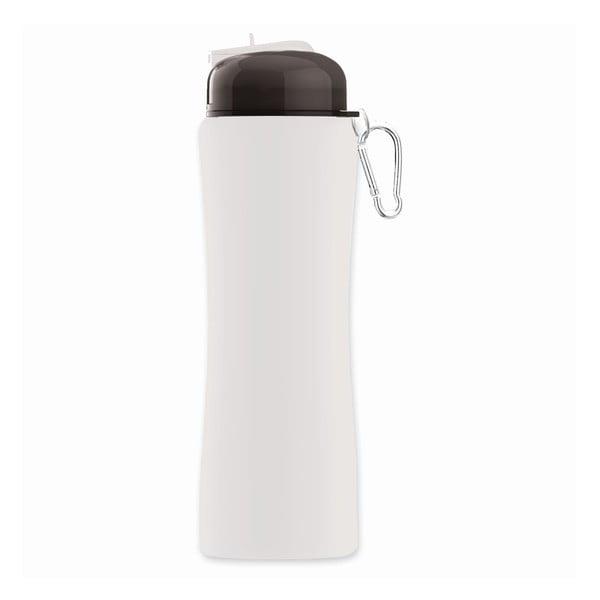 Športová fľaša Sili-Squeeze, biela, 650 ml