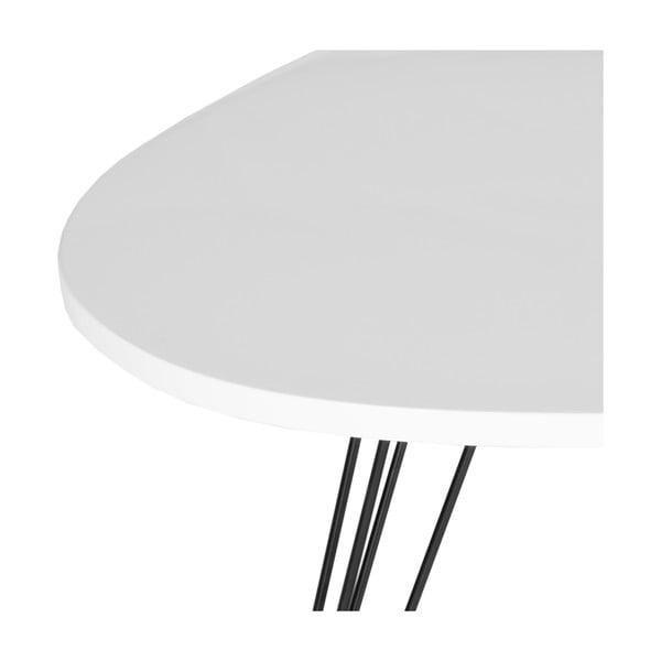 Odkladací stolík Wynton, svetlá doska