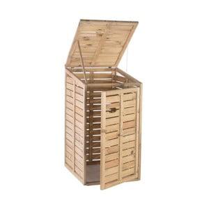 Záhradný box na odpadkový kôš Siesta, 73x87 cm