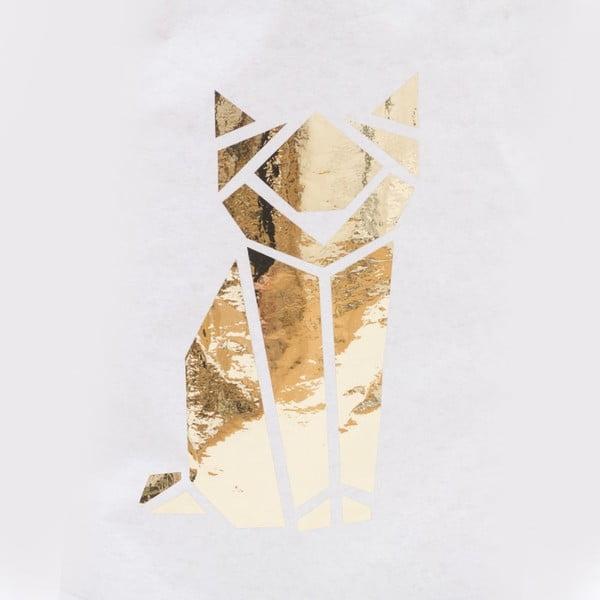 Papierové vrece Origami Katze Gold