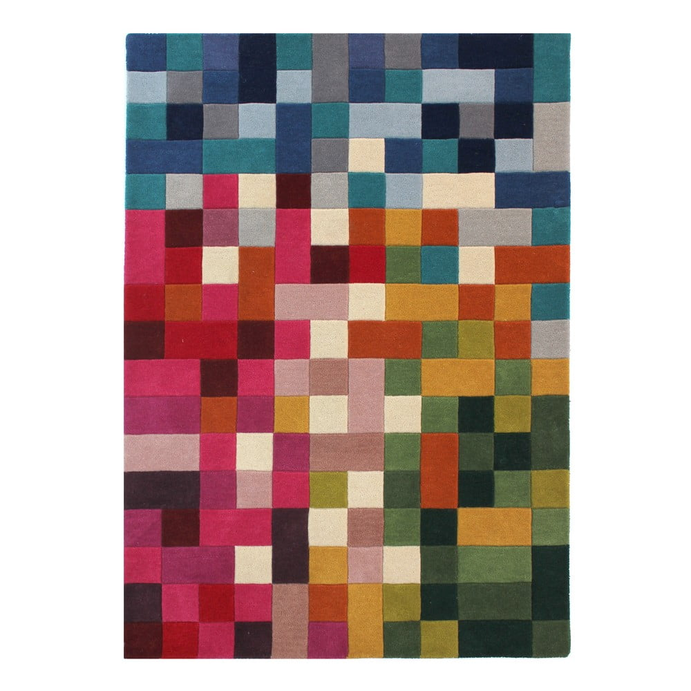 Farebný koberec z vlny Flair Rugs Lucea, 120 × 170 cm