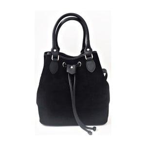 Kožená kabelka Sea Black