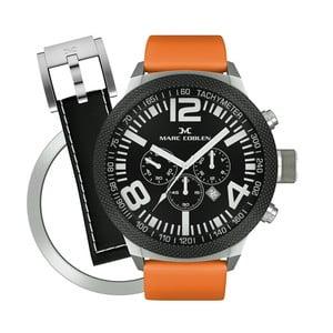 Pánske hodinky Marc Coblen s remienkom a krúžkom na ciferník naviac P56