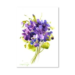 Plagát Little Violets od Suren Nersisyan