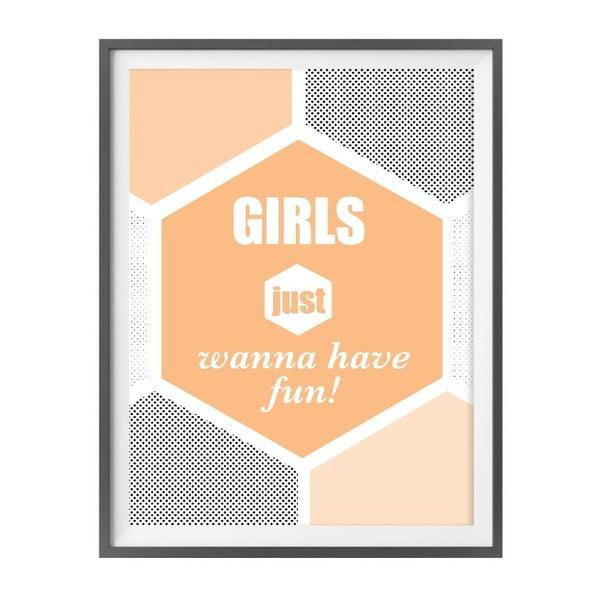 Hudební plakát Girls Just Wanna Have Fun
