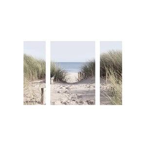 Samolepiace obrazy Come to the Beach, 50x70 cm