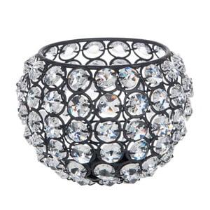 Svietnik Glass Ball Gliter, 13,5x13,5x10 cm