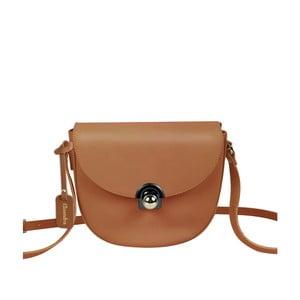 Hnedá kožená kabelka Maison Bag Gil