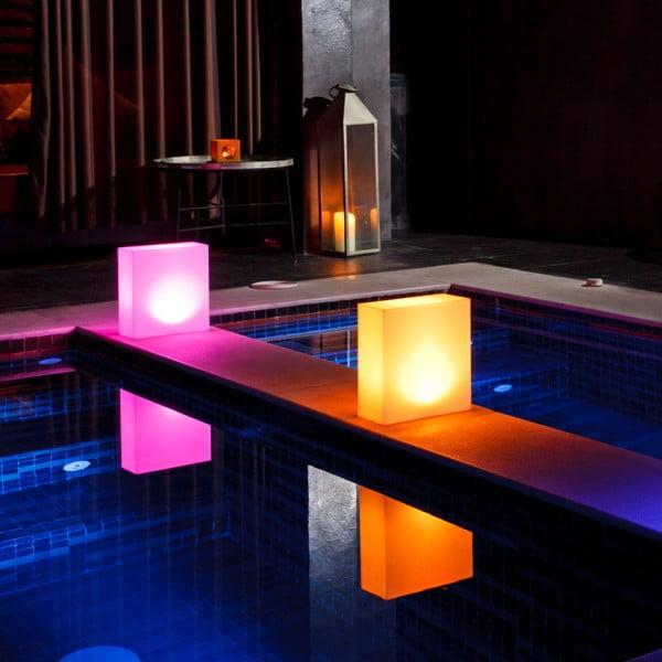 Náladové plávajúce zahradné svetlo Kong M