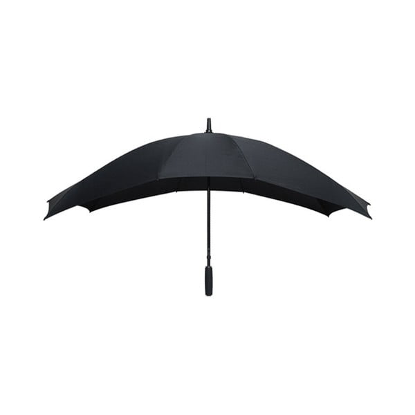 Čierny dáždnik pre dve osoby Ambiance Falconetti