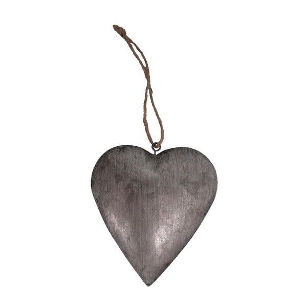 Kovová dekorácia Heart