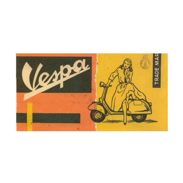 Obraz Vespa Lady