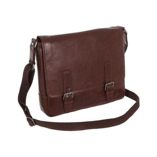 Pánska kožená taška Postie Brown