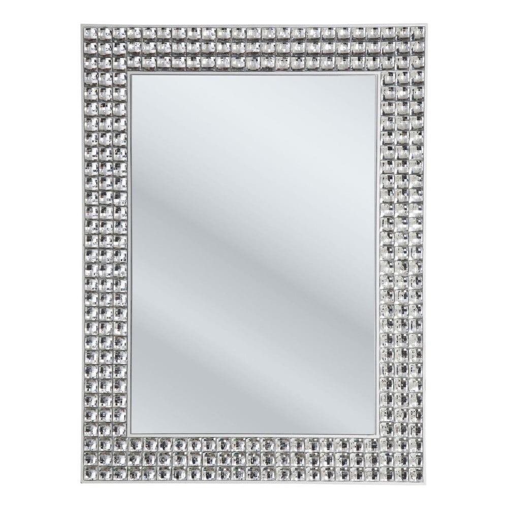Nástenné zrkadlo Kare Design Crystals, 60 × 80 cm