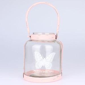 Lampáš Butterfly Pink