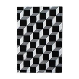Sivo-hnedý koberec Tomasucci Kubo, 140 x 190 cm