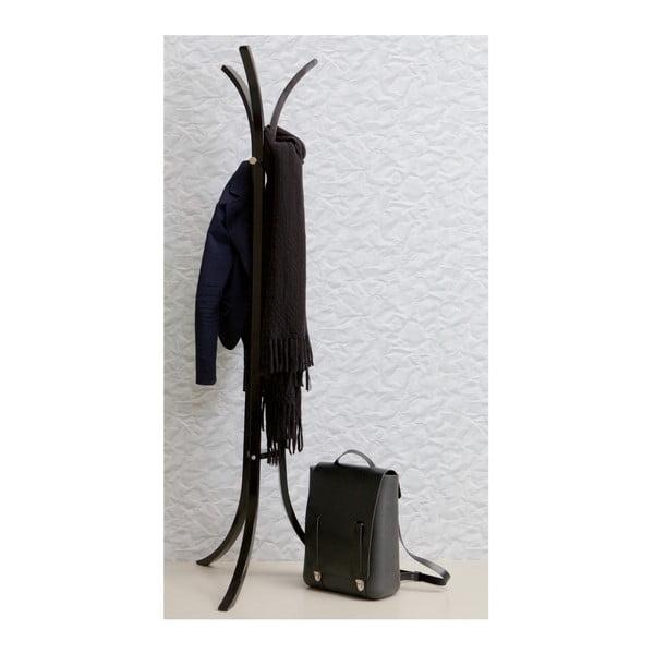 Čierny stojací vešiak z brezového dreva De Eekhoorn Wiek