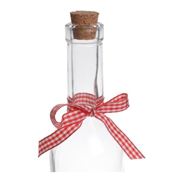 Sklenená fľaša Merry Christmas Slim