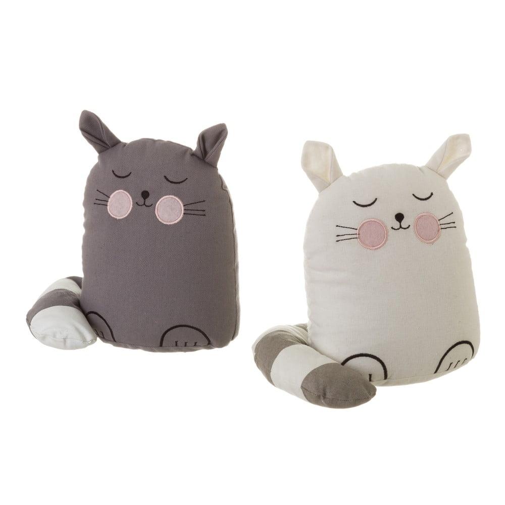 Sada 2 zarážok do dverí v tvare mačky Unimasa Kitty