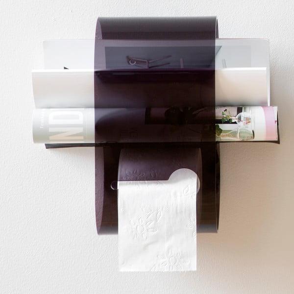 Stojan na toaletný papier B-Roll Black