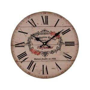 Ružové hodiny Antic Line Parfumer,⌀34cm