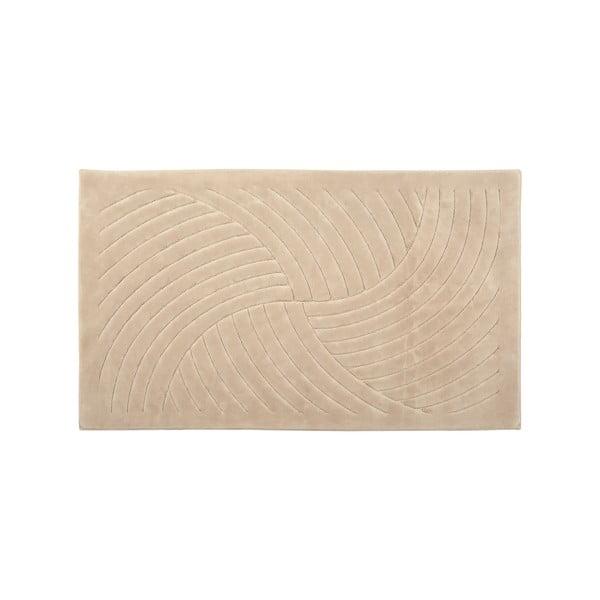 Koberec Waves 80x300 cm, cappuccino