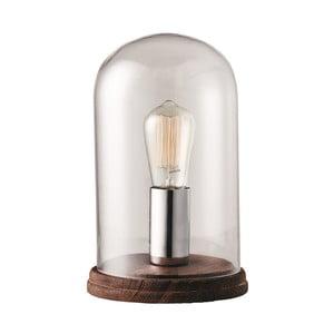 Chrómová stolová lampa Herstal Manola